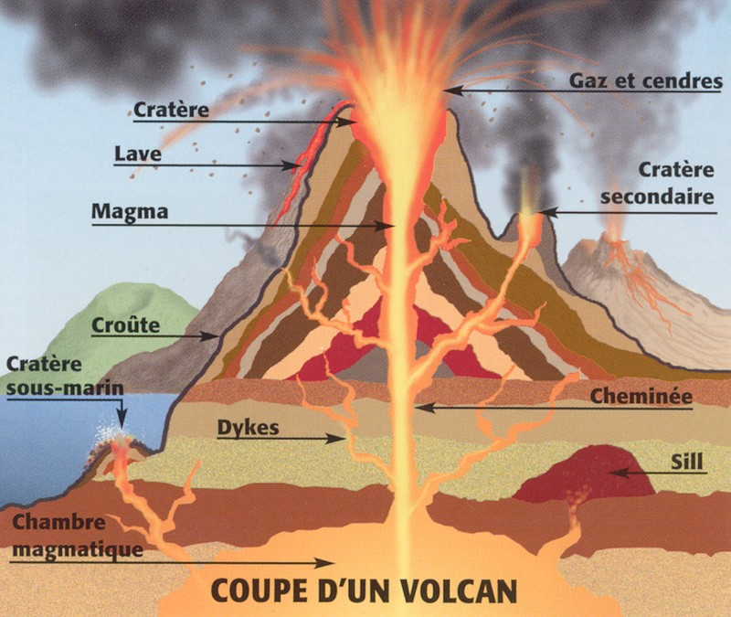coupe volcan
